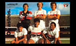 Falcão jogou com uma grande geração no SPFC.