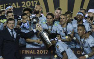 Tricampeonato da Libertadores.