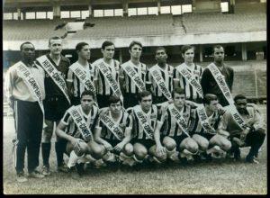 Grêmio heptacampeão gaúcho da década de 60.