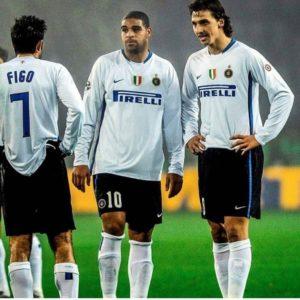 Três grandes lendas da Inter.