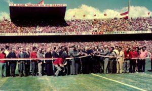 Em 1969 é inaufurado o Beira Rio.
