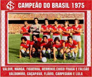 Falcão no primeiro titulo brasileiro do Inter.