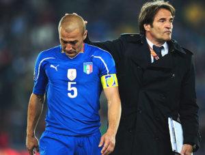 Itália caiu na primeira fase em 2010.