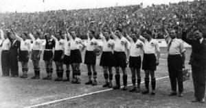 Seleção Italiano sob influÊncia de Mussolini.