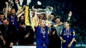 Juventus em seu segunto título de Champions: 1995-96.