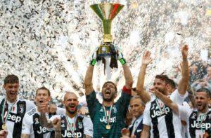 Juventus maior campeã da Itália.