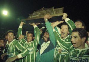 Palmeiras vence Corinthians na final do paulista de 93.