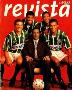 Super time do Palmeiras de 1996.