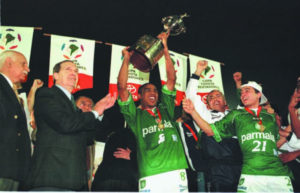 Primeira conquista de Libertadores do Palmeiras.