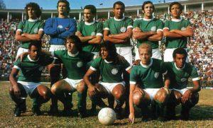 Palmeiras em sua segunda Academia na década de 70.
