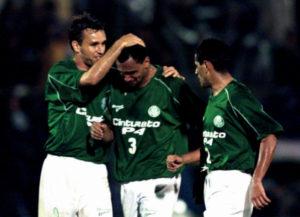 Queda do Palmeiras no Brasileirão 2002.