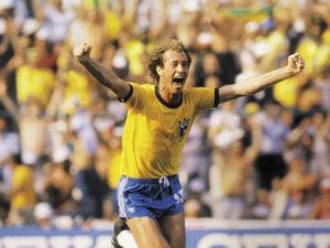 Falcão fez parte de um mítico meio-campo na Copa de 1982.