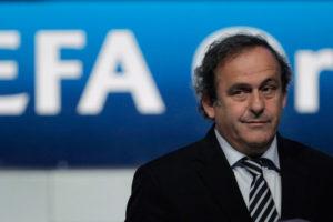 Platini enquanto presidente da UEFA.