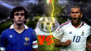 Platini ou Zidane, quem foi melhor?