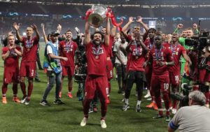 Primeira conquista do Liverpool de uma Premier League.