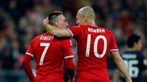 Dois jogadores importantes na conquista de mais uma Champions.