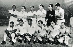 A geração mais lendária do Santos FC.