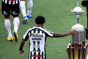 O Peixe fica com o vice da Libertadores 2020.