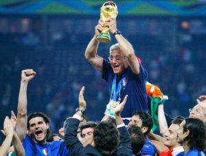 Itália seleção tetra campeã do mundo.