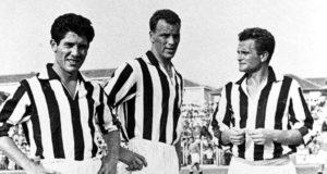 Omar Sivori, John Charles, Gianpiero Boniperti