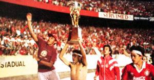 Único título da Copa do brasil do SC Internacional.