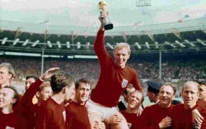 Único grande título da Seleção Inglesa de Futebol: Copa do Mundo de 1966.