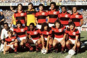 Time do Flamengo em 1982.