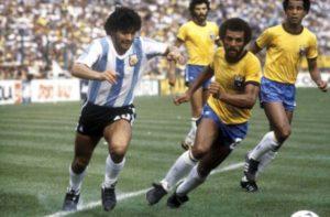 Primeira Copa de Maradona com a Seleção Argentina de Futebol