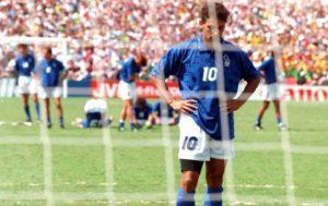 Roberto Baggio e o epsódio mais triste de sua carreira.