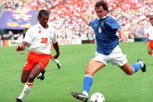 Brasil vs Holanda em 1994.