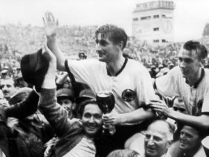 Título inédito da Copa do Mundo, após o milagre de Berna.