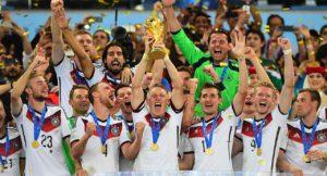 Seleção Aleã de Futebol conquista sua 4ª Copa do Mundo.
