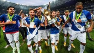 EC Cruzeiro conquista o 4º Campeonato Brasileiro.
