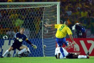 Derrota para o Brasil na final da Copa do mundo de 2002.