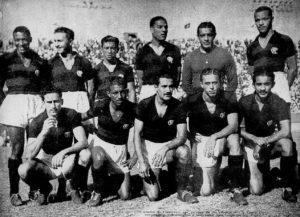 CR Flamengo tricampeão carioca nos anos 40.