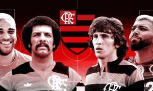 Em mais de 100 anos de história, grandes craques passaram pelo CR Flamengo.