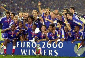 Título da Euro de 2000.