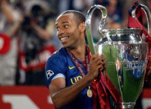 Thierry Henry conquista seu único título da Champions League.