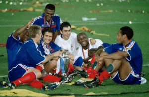 Título da Eurocopa de Thierry Henry com a França.