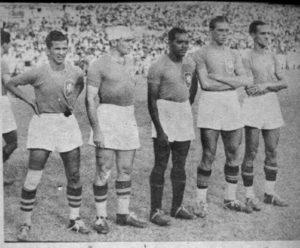 Diamante Negro na seleção brasileira.