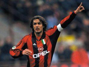 Paolo Maldini: Maior ídolo da história do Milan.