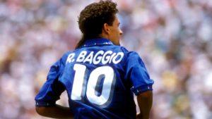 Roberto Baggio é considerado por muito o maior ídolo do futebol italiano.