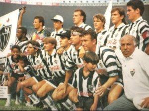 Atlético MG formou a SeleGalo em 1994.