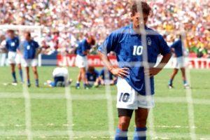 Baggio e o penalti na final.