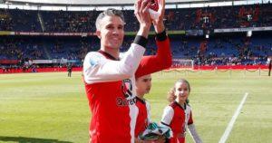 Aposentadoria no Feyenoord.