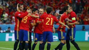 Nova geração da Seleção Espanhola de Futebol.