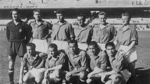 Seleção Espanhola de Futebol na Copa do Mundo de 1950.