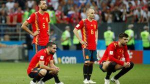 A última copa de jogadores lendários da Seleção Espanhola de Futebol.