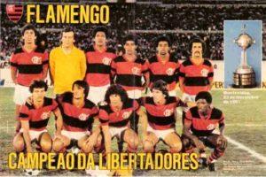 Time do Flamengo em 1981.