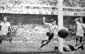 Primeiro vexame do Brasil na final de 1950.